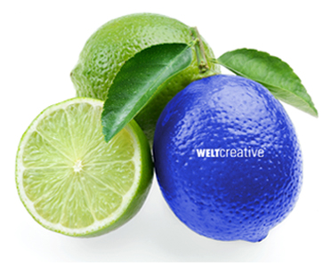 Even a lemon can be blue sometimes ... THINK WELT